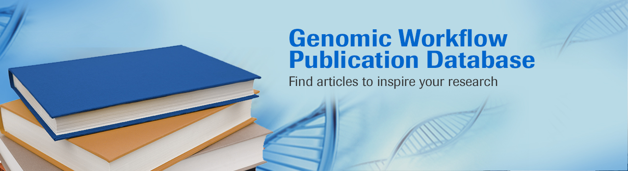 Genomic Workflow Publication Database Image